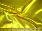 Discount Fabric Satin Sunshine Yellow 64 inches wide 22SA
