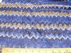 Discount Fabric Nylon Tricot NAVY BLUE ABSTRACT 73TR