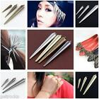 50/100p Taper Rivet Spike Charms Leather Clothes Jewelry Craft DIY Nailhead Punk