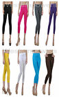 GIRL LADIES BASIC ULTRA STRETCH PANTS TIGHTS SLIM SEXY ONE SIZE LEGGING XS S M L
