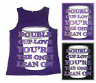 Double Cup Love The One I Lean On Tank Top M-3XL Screen Printed Piranha Records