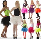 NEON TUTU 80,s FANCY DRESS PARTY