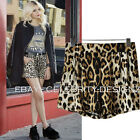 sh29 Celebrity Style Leopard Animal Print Loose Fit Casual Shorts Hotpants