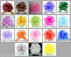 """Organza Pull Bow Large 6"""" Pom Pom Bow 12 Colours Wedding~Celebration~Party~Gift"""