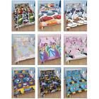 DOUBLE CHARACTER DUVET COVERS BEDDING  - OFFICIAL - CARS, MINNIE, DISNEY + MORE