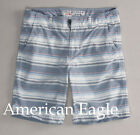 American Eagle Outfitters AE Men White striped Classic Length shorts size 30