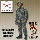 Ultra Force BDU SET! Tiger Stripe Camo Shirt, Pants & Boonie Hat