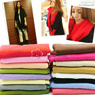 "Fashion Lady's Pashmina Shawl Scarf Wrap New Stole 70X175cm (70""x27"") 16 Colors"