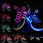 Cool Muti-color LED Flash Light Up Glow Shoelaces Shoe Laces DISCO Party Skating