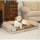 Cozy Sofa Memory Foam Orthopedic Dog & Pet Bolster Bed