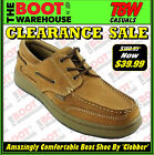 Mens Boat Shoes By 'Clobber'.  Nubuck Leather.  Built For Comfort & Long Wearing