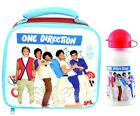 One Direction 1D Grid School Lunch Bag and/or Aluminium Bottle New Gift