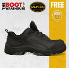 Oliver Work Boots 44500, Non Metallic Toe Cap. 'Black' Lace-Up Shoes. Brand New