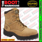 Oliver Work Boots 45632C. Non Metallic Toe Cap. 'Wheat' 150mm Lace-Up AT's. NEW