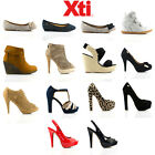 NEW Womens Xti Shoes/High Heels/Trainers/Flats/Boots - FREE SHIPPING