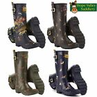 Joules Wellyprint Wellies Ladies Wellys (P) ***BRAND NEW***