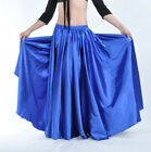 New High Quality Belly Dance Performances Practice Satin Skirt/Dress 14 colors