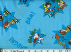 PEANUTS SNOOPY : choose from assorted 100% cotton fabrics