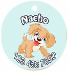 Personalized Custom Pet Dog Cat Tag ID So cute Puppy doggy Any name Text