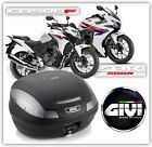New Honda CBR500R & CB500F 2013  Givi Monolock Top Box with SR1119 Fitting kit