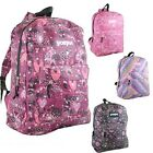 "Sportpak Girls 17"" Glitter Graphic Backpacks in 4 Styles"