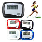 Mini Digital LCD Screen Step Run Pedometer  Clip-on Styl Walking Calorie Counter