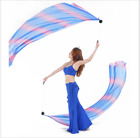 one pair Thrown Balls with Silk Veil Scarf Belly Dance Hand Props 31 colors