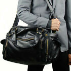 Men's Travel Bag Large Business Shoulder Bag Cross Body Bag Totes Black Handbag