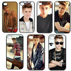 Fashion Justin Bieber black hard plastic Snap on Case Cover For iPhone 4 4S 5 5G