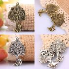 Trees Tree Of Life & Cats Tibetan Silver/Bronze Charm Spacer Pendant Bead Crafts