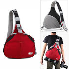 Waterproof DSLR Camera Shoulder Cross Chest Bag Padded With Insert Waist Belt