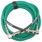 Ploynk audio custom Right Angle to 90 degree 1/4 TRS balanced studio patch cable