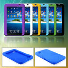 Portable Gel Rubber Case Cover For Samsung Galaxy Tab GT- P1000 Tablet Colorful