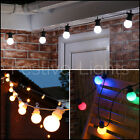 20 LED FESTOON CONNECTABLE CHRISTMAS LIGHTS OUTDOOR GARDEN XMAS PARTY WEDDING 8M