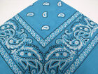 GREAT VALUE PAISLEY BANDANA BANDANNA HEADBAND SCARF 100% COTTON