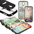 LOT Cute Cartoon Styles TPU Hard Matte Case Cover for Samsung Galaxy S4 i9500