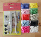 Lot 500 Sets KAM Resin Snaps Buttons Size 20/T5 + 1 Set Plier Kits Free Shipping