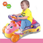 deAO Toys 2in1 Baby Walker and Push Power Ride On Car with Shape