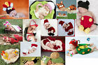Hot Newborn Boy Girl Baby Crochet Knit Costume  Photo Photography Prop Outfit