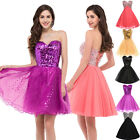 New Stock Short Formal Prom Cocktail Ball Evening Party Dresses Homecoming Dress