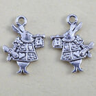 40 Tibetan Silver Rabit Charm Pendants for necklace DIY Bracelet Pendants kp4448