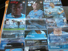 10/11 Manchester City Home Programmes     (v Your Choice)