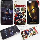 Marvel Comic Superhero BATMAN IRON MAN CAPT AMERICA Hard Case Cover iPhone 4/4S