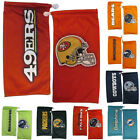 NFL Football Team Logo Microfiber Sunglasses Bag Pouch - Pick Your Team! on eBay