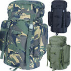 35 Litre Rucksack Backpack Hiking Walking Camping Army Scout Day Pack Sack Bag
