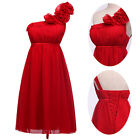 Womens Sexy One shoulder Evening Dress Short Bridesmaid Pageant Formal Prom Gown