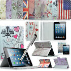 Retro Smart Leather Stand Case Cover For iPad Mini Free Screen Protector Stylus