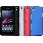 Frost Matte Durable Soft Gel TPU Rubber Case Cover Skin for Sony Xperia Z1 C6906