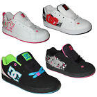 DC Shoes Youth's Cosmo / Net / Court Graffik SE Kinder Sneaker / Skater Schuhe