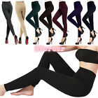 NEW Women Warm Winter Skinny Slim Leggings Stretch Pants Thick Footless Tights